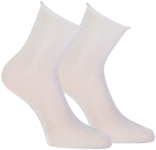 Silberne MARCMARCS Socken BLACKPOOL - large