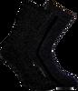 Schwarze MARCMARCS Socken ERICA COTTON 2-PACK - small