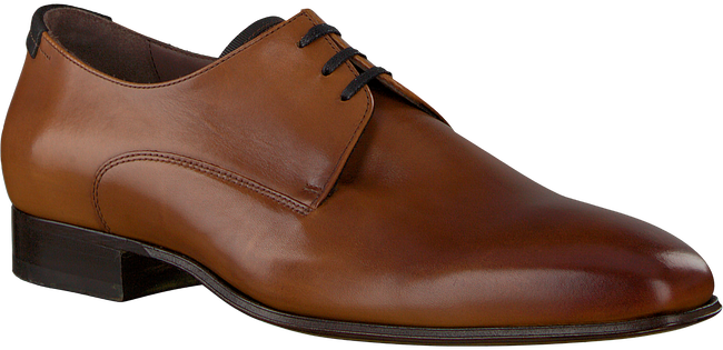 cognac FLORIS VAN BOMMEL shoe 14095  - large