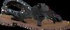 Schwarze LAZAMANI Sandalen 75.630  - small