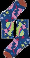 Weiße HAPPY SOCKS Socken HYSTERIA VIOLA ANKLE SOCK  - medium