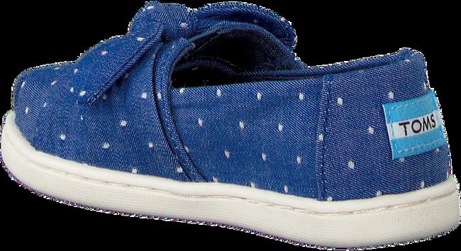 Blaue TOMS Slipper ALPARGATA  - large