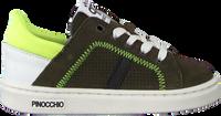 Grüne PINOCCHIO Sneaker low P1232  - medium
