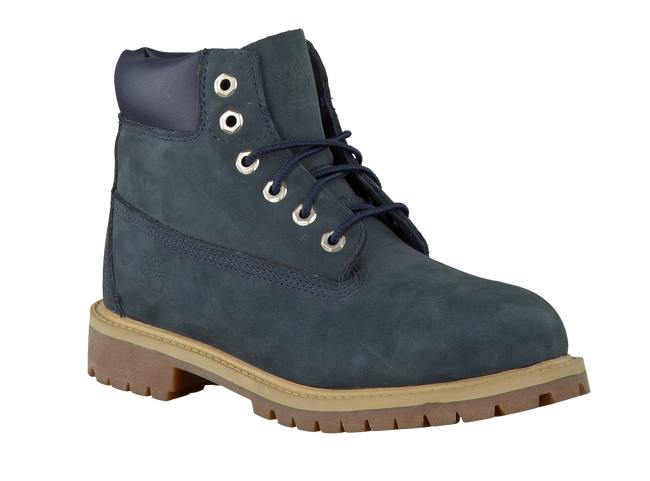 Blaue TIMBERLAND Ankle Boots 6IN PRM WP BOOT KIDS - large