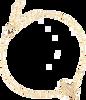 Goldfarbene ALLTHELUCKINTHEWORLD Armband ELEMENTS BRACELET CACTUS - small