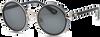 Schwarze IKKI Sonnenbrille JINX - small
