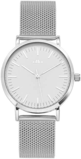 Silberne IKKI Uhr HAYLEY - large