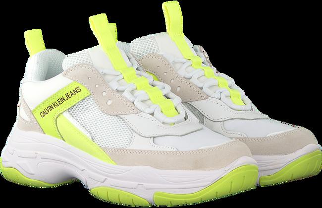 Gelbe CALVIN KLEIN Sneaker low MAYA  - large