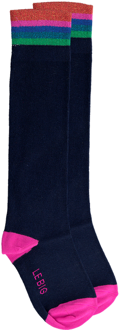 Blaue LE BIG Socken PRESLEY KNEE HIGH  - large
