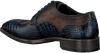 Blaue GIORGIO Business Schuhe HE974156  - small