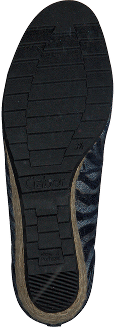 Blaue GABOR Slipper 641 - large