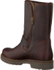 Braune PANAMA JACK Biker Boots SINGAPUR B23 - small
