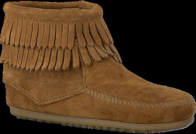 Cognacfarbene MINNETONKA Ankle Boots 2292 KIDS - large