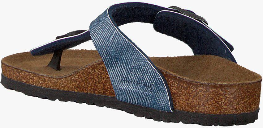 Blaue BIRKENSTOCK Pantolette GIZEH KIDS - larger