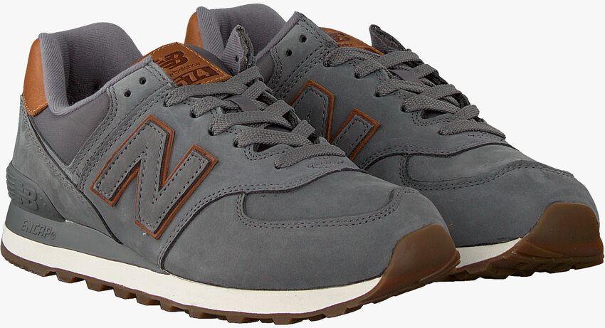 Graue NEW BALANCE Sneaker 738041-60  - larger