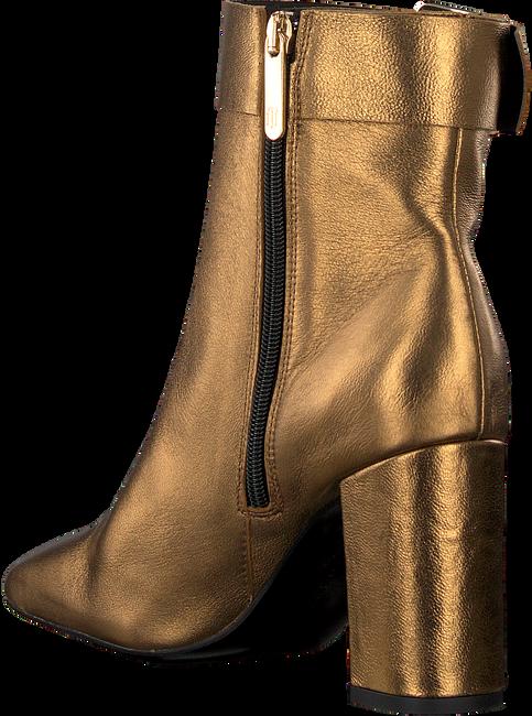 Goldfarbene TOMMY HILFIGER Stiefeletten SQUARE TOE  - large