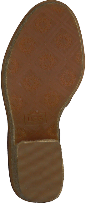 Cognacfarbene UGG Sandalen CARINE  - large