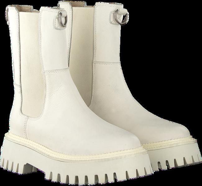 Weiße BRONX Chelsea Boots GROOV-Y 47268  - large