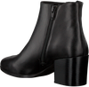 Schwarze OMODA Stiefeletten NETTY ANKLE BOOT STACKED - small