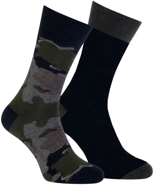 Graue MARCMARCS Socken MM DOMINIC COTTON 2-PACK - large