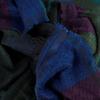 Blaue NOTRE-V Schal CORTNEY  - small