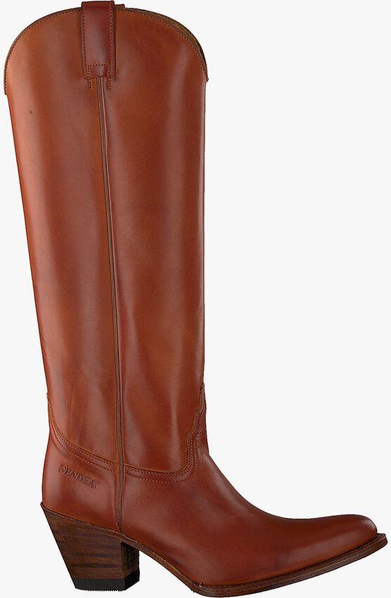 Cognacfarbene SENDRA Hohe Stiefel 6592  - larger