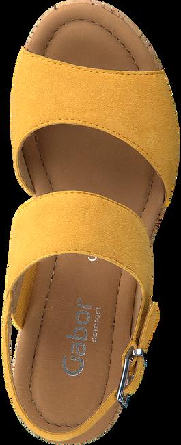 Gelbe GABOR Sandalen 775  - large