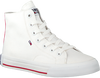 Weiße TOMMY HILFIGER Sneaker high MIDCUT ESSENTIAL  - small