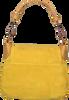 Gelbe FRED DE LA BRETONIERE Umhängetasche 231010002 - small