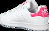 Weiße ADIDAS Sneaker STAN SMITH J - small