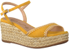 Gelbe UNISA Espadrilles KISSES - small