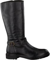 Schwarze APPLES & PEARS Hohe Stiefel GILDA  - medium