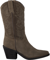 Taupe RED-RAG Cowboystiefel 77048  - medium