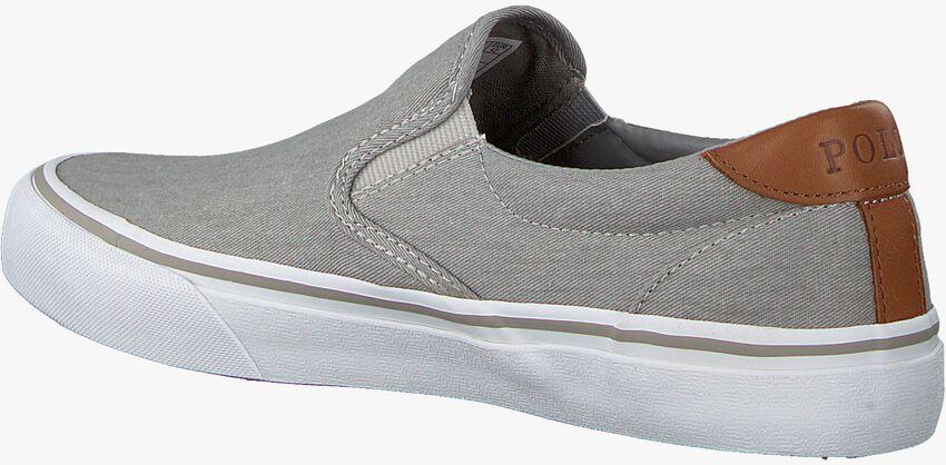 Graue POLO RALPH LAUREN Slip-on Sneaker THOMPSON  - larger