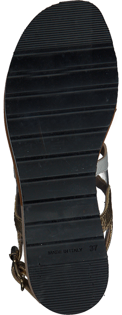 Goldfarbene LAURA BELLARIVA Sandalen 3260B  - large