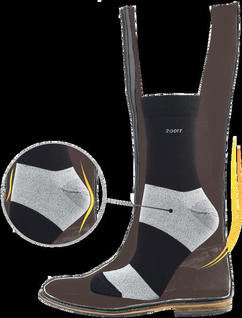 Schwarze ZOOFF Socken SKIM - large