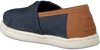 Blaue TOMS Slipper ALPARGATA  - small