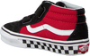 Rote VANS Sneaker UY SK8-MID REISSUE LOGO POP  - small