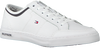 Weiße TOMMY HILFIGER Sneaker CORE CORPORATE LEATHER SNEAKER  - small
