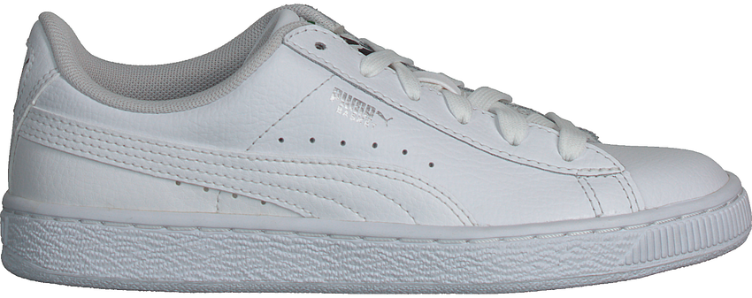 Weiße PUMA Sneaker BASKET CLASSIC LFS - larger