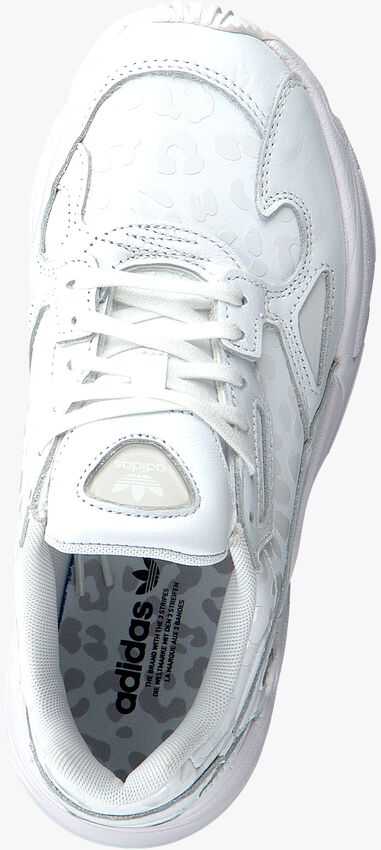 Weiße ADIDAS Sneaker FALCON W  - larger