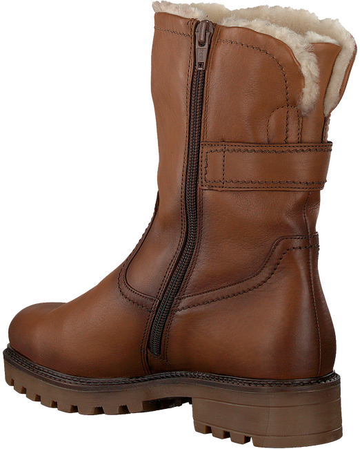 Cognacfarbene GABOR Hohe Stiefel 813  - large