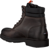 Braune TOMMY HILFIGER Schnürboots CASUAL BOOT  - small