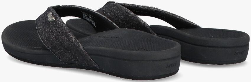 Schwarze REEF Pantolette ORTHO SPRING  - larger