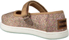 gold TOMS shoe MARY JANE  - small