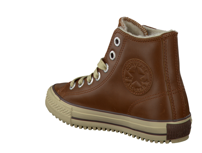 Cognacfarbene CONVERSE Sneaker AS WINTERBOOT - large