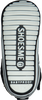 Schwarze SHOESME Babyschuhe BP8W109 - small