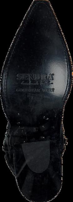 Schwarze SENDRA Cowboystiefel 10779 - large