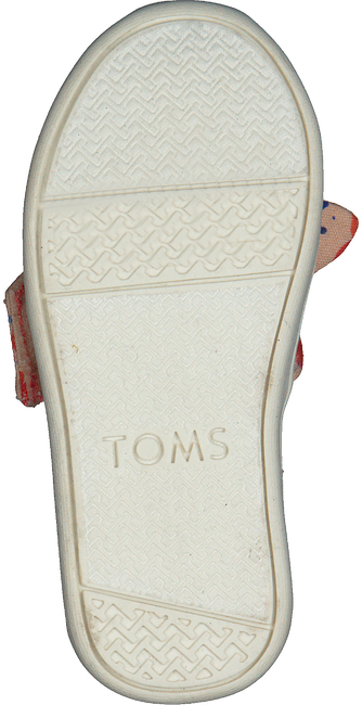 Rote TOMS Slipper ALPARGATA  - large