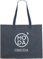 Weiße OMODA Shopper 50x14x40 - medium
